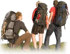 Backpackers-Traveling