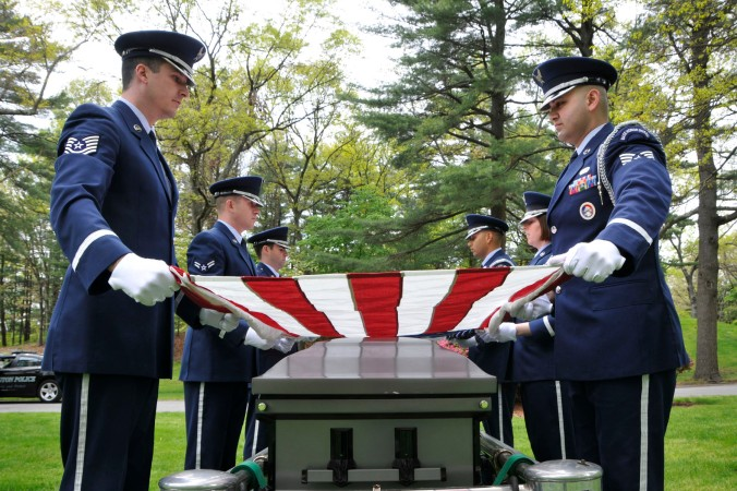 AF changes military funeral requirements