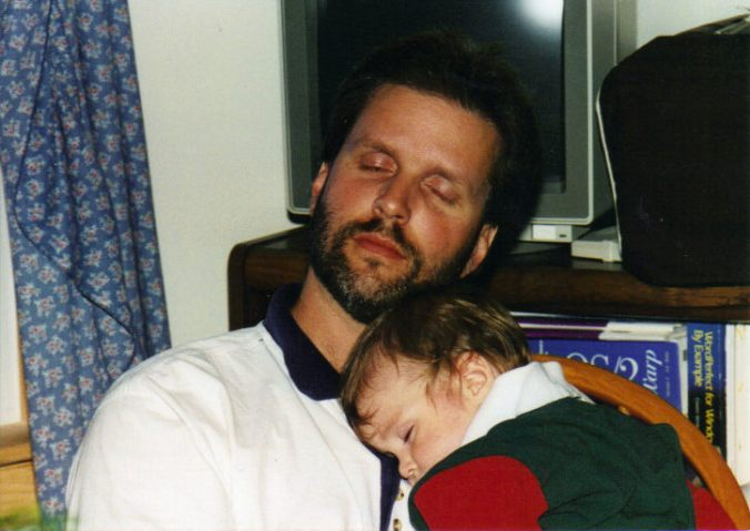 levi and dave sleeping